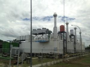 Mesin Listrik PLN Rayon Petung (L Gustian – Hello Borneo)