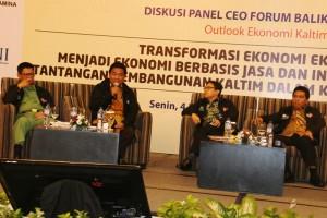 Yusran Aspar Jadi Pembicara di Diskusi CEO Forum (Subur - Humas Setkab PPU)