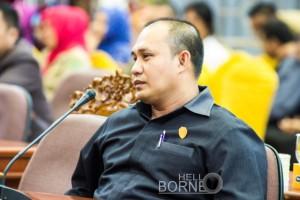 Ketua Komisi I DPRD Kab PPU, Fadliansyah (Suherman - Hello Borneo)