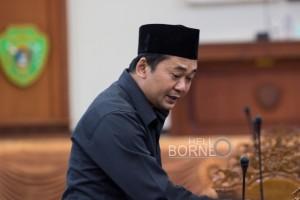 Anggota Fraksi PDIP, Sudirman S.Sos (Suherman - Hello Borneo)