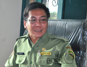 Kabid UKM dan Koperasi Disperindagkop UKM Kabupaten Penajam Paser Utara, Suhardi (Kambolo' - Hello Borneo)