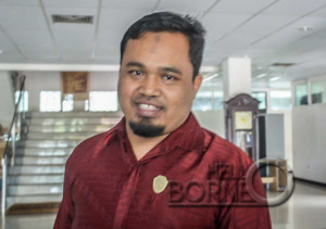 Ketua Balegda atau Badan Legislasi Daerah DPRD Penajam Paser Utara, Wakidi (Bagus Purwa - Hello Borneo)