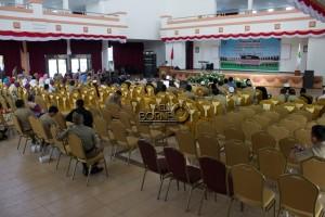 Peringatan Maulid Nabi Muhammad SAW yang digelar Pemerintah Kabupaten Penajam Paser Utara sepi jama'ah (Suherman - Hello Borneo)