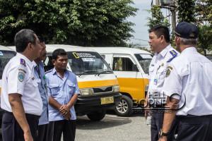 Tim Penilai WTN dari Dirjen Perhubungan Darat saat meninjau pelayanan Terminal Penajam (Suherman - Hello Borneo)