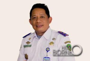 Pelaksana tugas (Plt) Kepala BKD Kabupaten Penajam Paser Utara, Alimuddin (Suherman - Hello Borneo)