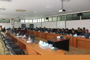 Kunjungan Kerja DPRD Kabupaten Sumenep di DPRD Kabupaten PPU (Ist)
