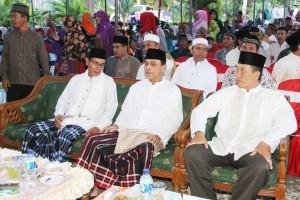 Safari Ramadan Wakil Bupati, Mustaqim MZ di Masjid Al-Furqon Desa Bukit Raya Kecamatan Sepaku (Iskandar - Humas Setkab PPU)