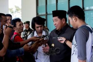 Bupati Penajam Paser Utara, Kalimantan Timur, Yusran Aspar (Suherman - Hello Borneo)