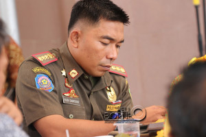 Kepala Satuan Polisi Pamong Praja. Kabupaten Penajam Paser Utara, Budi Santoso (Suherman - Hello Borneo)