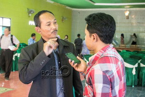 Komisioner KPID Proviinsi Kalimantan Timur, Suarno (Suherman - Hello Borneo)