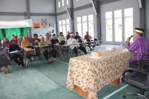 Peserta pelatihan fardhu kifayah yang digelar Kemenag Kabupaten Penajam Paser Utara (Iskandar - Humas Stkab Penajam Paser Utara)