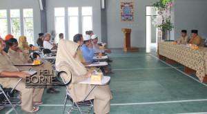 Rakor Peningkatan Kualitas Tenaga Pendidik Pada Pendidikan Agama Nonformal yang digelar Kemenag Kabupaten Penajam Paser Utara (Iskandar - Humas Setkab Penajam Paser Utara)