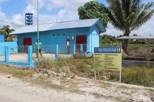 Stasiun pengolahan air bersih atau WTP di Kecamatan Babulu, Kabupaten Penajam Paser Utara (Suherman - Hello Borneo)