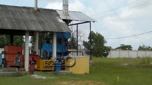 """""""Incinerator"""" medis atau pengolahan sampah klinik yang dimilki RSUD Penajam Paser Utara (Bagus Purwa - Hello Borneo)"""
