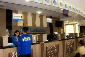 BPD Kaltim Cabang Penajam Paser Utara, melayani penukaran uang pecahan (Suherman - Hello Borneo)
