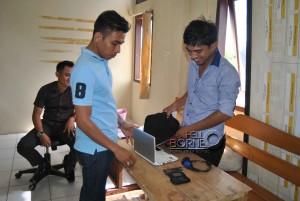 Barang bukti IM yang diamankan Polres Penajam Paser Utara (Dika - Hello Borneo)