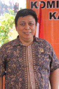 Ketua KPU Kabupaten Paser, Eka Yusdar Indrawan (Ajang Araya)