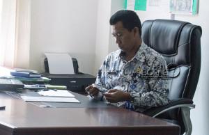 Kepala Bidang Kehutanan, Dinas Kehutanan dan Perkebunan Kabupaten Penajam Paser Utara, Sugino (Suherman - Hello Borneo)