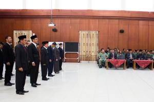 Mutasi pejabat struktural eselon III di lingkungan Pemerintah Kabupaten Penajam Paser Utara (Suherman - Hello Borneo).