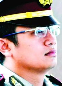 Kasat Reskrim Polres Paser, AKP Aldi Alfa Faroki (Ajang Araya - Hello Borneo)