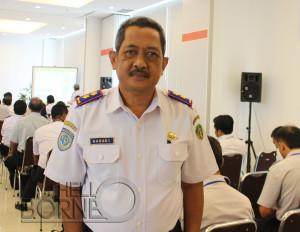 Kabid Perhubungan Darat Dishubbudpar Kabupaten Penajam Paser Utara, Buhadi (Suherman - Hello Borneo)