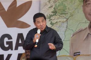 Bupati Penajam Paser Utara, Yusran Aspar (Suherman _ Hello Borneo)