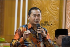 Wakl Ketua DPRD Penajam Paser Utara, Kalimantan Timur, Sudirman (Suherman - Hello Borneo)