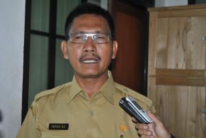 Kepala Bidang Pengairan Dinas Pekerjaan Umum Pemukiman dan Prasarana Wilayah Kabupaten Penajam Paser Utara, Supardi (Dika - Hello Borneo)(1)