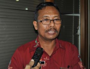 Kepala Kantor Ketahanan Pangan dan Penyuluhan Kabupaten Penajam Paser Utara, Surito Widarie (Dika - Hello Borneo)