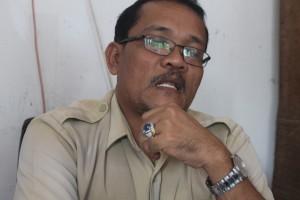 Kabid Penempatan, Pelatihan dan Produktifitas Tenaga Kerja, Dinas Tenaga Kerja (Disnaker) Paser Madju Simangsong. (MR Saputra - Hello Borneo)