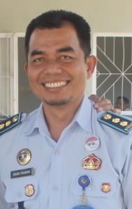 Kepala Rutan Kelas IIB Tana Paser, Husni Tamrin