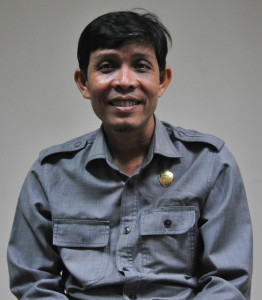 Sekretaris Komisi II DPRD Penajam Paser Utara, Thohiron (Dika - Hello Borneo)
