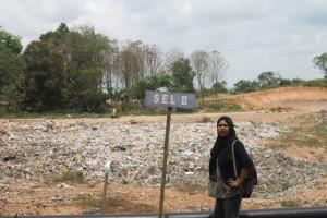 Sulap. Kondisi TPA di kilometer 7, yang dikelola dengan baik, yang rencananya akan dijadikan taman edukasi. (Ajang Araya - Hello Borneo)
