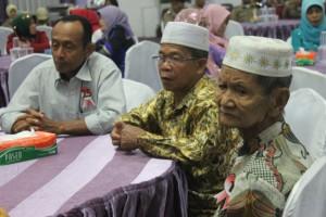 VETERAN. Para Veteran yang hadir dalam acara syukuran peringatan Dirgahayu RI ke-70. (MR Saputra)