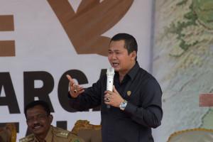 Wakil Ketua DPRD Penajam Paser Utara, Sudirman (Suherman - Hello Borneo)