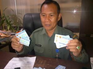 Kepala Dinas Kependudukan dan Pencatatan Sipil Kabupaten Penajam Paser Utara, Suyanto (AH Ari B - Hello Borneo)