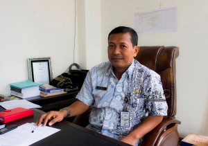 Kepala Dinas Perhubungan Kebudayaan Pariwisata dan Kominfo Kabupaten Penajam Paser Utara, Andi Dahrul (Suherman - Hello Borneo)