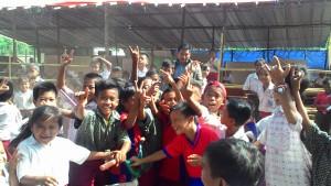 Harapan. Inilah generasi harapan Kabupaten Paser, sudahkah kepedulian itu ada untuk mereka? (Rapal JKN - Hello Borneo)