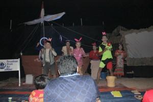 Pagelaran Malam Puisi Paser untuk memperingati dan memaknai Sumpah Pemuda. (Rapal JKN - Hello Borneo)