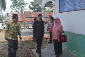 Pengurus PP Muhamadiyah tinjau lokasi eks RS Panglima Sebaya. (Rapal JKN - Hello Borneo)