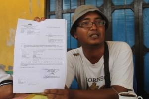 Warga Praperadilankan Polres Paser terkait penangapal JKN - Hello Borneo)k