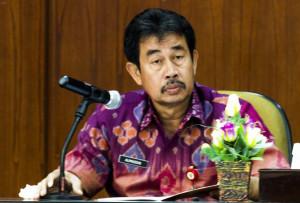 Asisten Umum AdministrasiSekretariat Kabupaten Penajam Paser Utara, Alimuddin Map (Suherman - Hello Borneo)