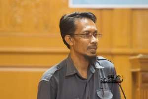Kepala Badan Pelayan Perizinan Terpadu dan Penanaman Modal Penajam Paser Utara Andrian Amsyar (Suherman - Hello Borneo)