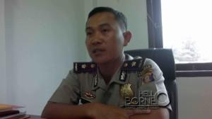 Kepala Bagian Operasi Polres Penajam Paser Utara, Komisaris Polisi Gede Pasek (Bagus Purwa - Hello Borneo)