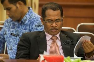Kepala Dinas Kelautan dan Perikanan Kabupaten Penajam Paser Utara, Ahmad Usman (Suherman - Hello Borneo)
