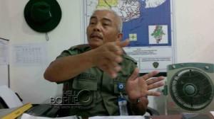 Kepala Seksi Keamanan dan Perlindungan Hutan Dishutbun Kabupaten Penajam Paser Utara, Manuju Manullang (Bagus Purwa - Hello Borneo)