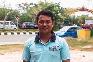Ketua Panitia Pelaksana Peringatan Hari Sumpah Pemuda 2015 Kabupaten Penajam Paser Utara, Amrulah (Suherman - Hello Borneo)