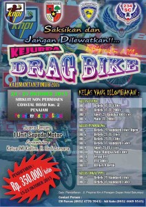 Pamflet Drag Bike