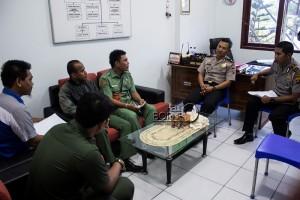 """Pantia Penyelenggara Kejurda """"Drag Bike"""" Seri III 2015 melakukan koordinasi terkait perizinan dengan Polres Penajam Paser Utara (Suherman - Hello Borneo)"""