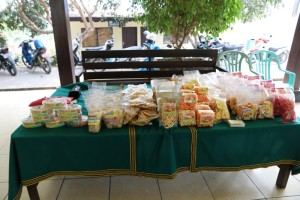 Produk UKM yang dikelola oleh ibu-ibu di Kabupaten Penajam Paser Utara (Alpian - Humas Setkab Penajam Paser Utara)